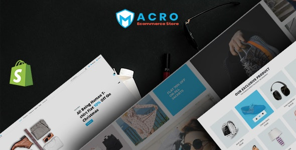 Macro - Ecommerce Multistore Shopify Template - Shopify eCommerce