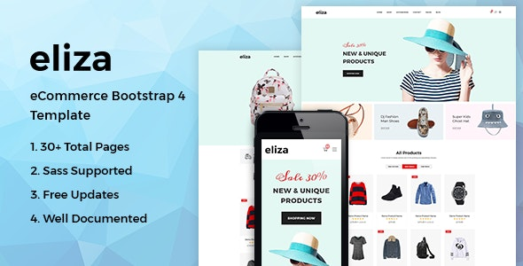 Eliza - Fashion HTML Template - Fashion Retail