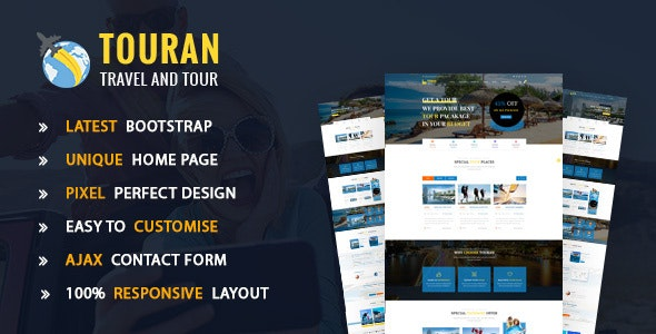 Touran - Tour and travel HTML5 template - Travel Retail