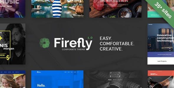 Firefly - Responsive Multi-Purpose WordPress Theme
