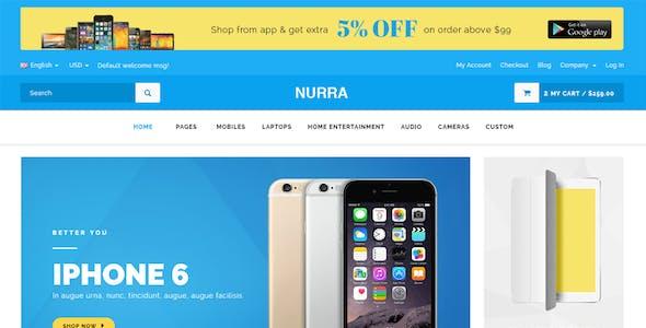 Nurra - Electronics, Furniture, Gym & Fashion Store Multipurpose Responsive HTML template