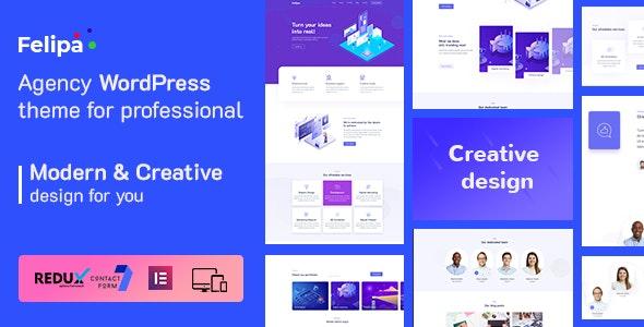 Felipa - Agency WordPress Theme - Business Corporate