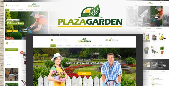 PlazaGarden  - OpenCart Theme (Included Color Swatches) - Health & Beauty OpenCart