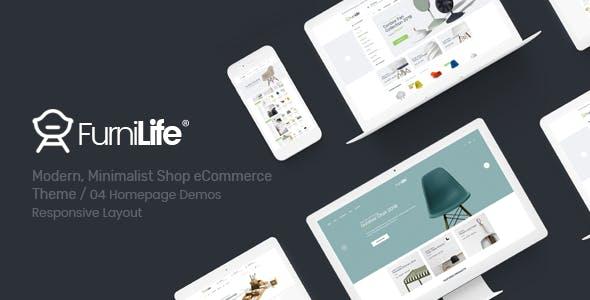 Furnilife - Furniture, Decorations & Supplies Opencart Theme