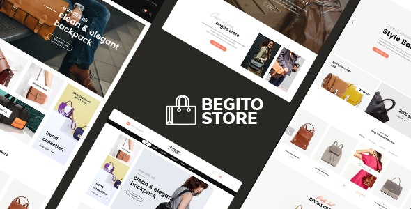 Begito - Bag Store Responsive Prestashop 1.7 Theme - Fashion PrestaShop