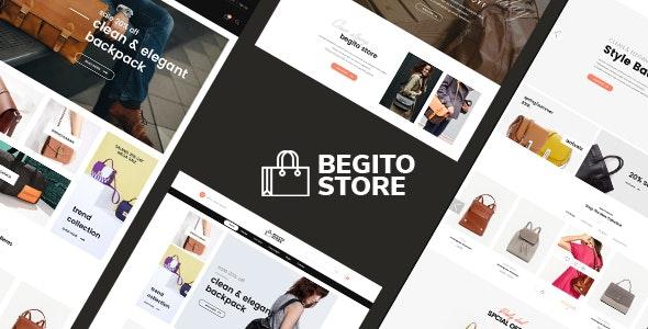Begito - Bag Store Responsive Opencart 3.x Theme - Fashion OpenCart