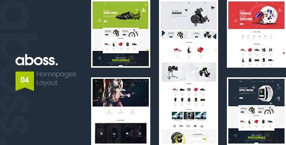 Aboss - Opencart 3 Theme for Sport Shop