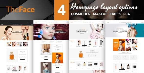 TheFace - Responsive Opencart Theme - Health & Beauty OpenCart
