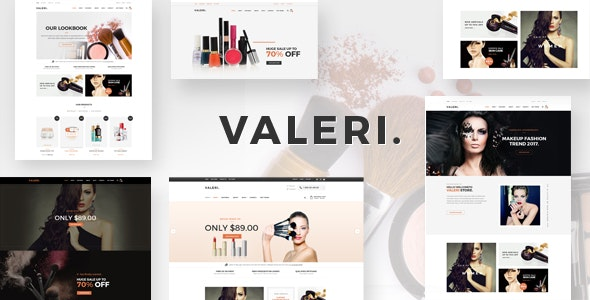 Valeri - Responsive Prestashop Theme for Beauty SPA and Salons - Health & Beauty PrestaShop
