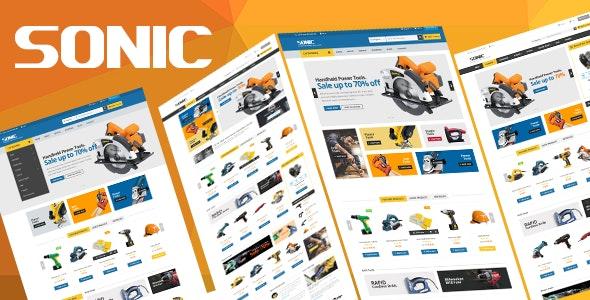 Sonic - Responsive Prestashop Theme - Shopping PrestaShop