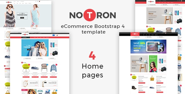 Notron – Fashion Furniture Store HTML Template - Fashion Retail