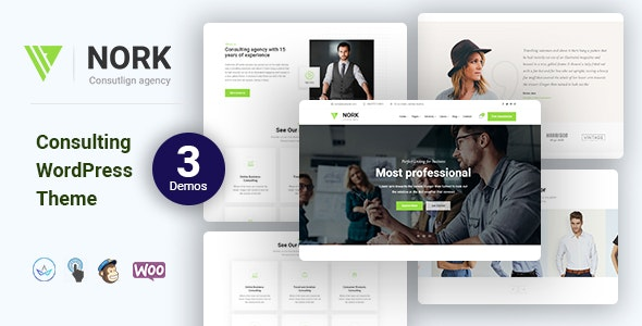 Nork - Business, Consulting WordPress Theme - Business Corporate