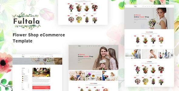 Fultala – Flower Shop HTML Template - Shopping Retail