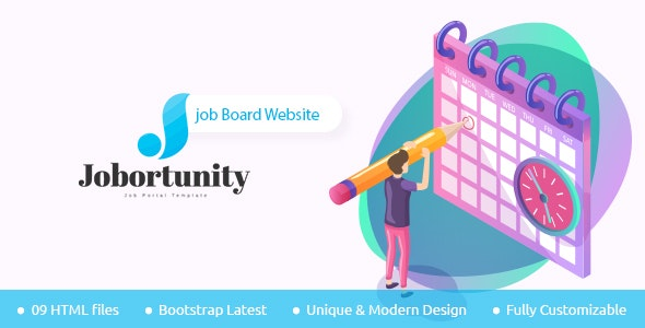 Jobortunity - Job Board HTML Template - Site Templates