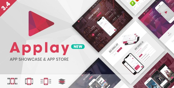 Applay - WordPress App Showcase & App Store Theme - Software Technology