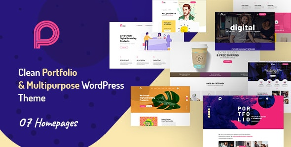 Picko - Clean Portfolio & Multipurpose WordPress Theme - Portfolio Creative