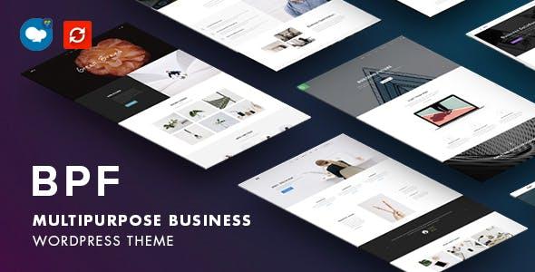 BPF - Free Multi-Purpose Business WordPress Theme