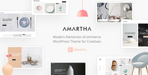 Amartha - Modern Elementor WooCommerce Theme by neuronthemes