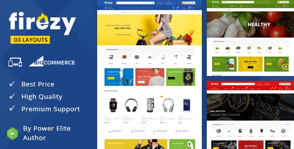 Firezy - Multipurpose Stencil BigCommerce Theme - BigCommerce eCommerce