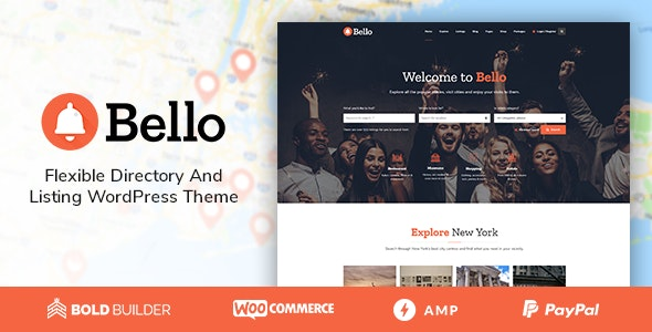 Bello - Directory & Listing by BoldThemes | ThemeForest