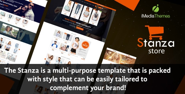 Stanza Store – Responsive eCommerce HTML 5 Template - Shopping Retail