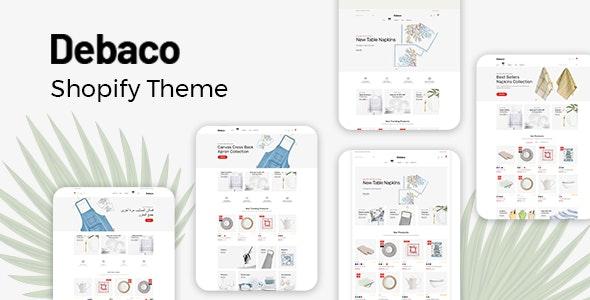Debaco Kitchen Appliances Store Shopify Theme