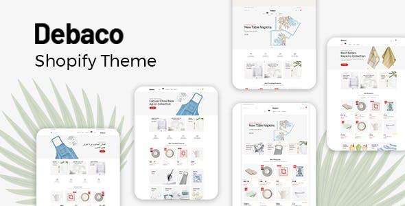 Kitchen Appliances Store Shopify Theme - Debaco