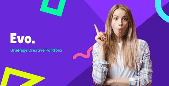 Evos - Creative Portfolio HTML Template - Portfolio Creative