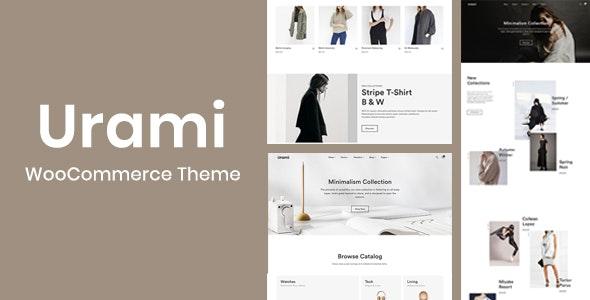 Urami WP - Modern minimalist WooCommerce theme - WooCommerce eCommerce
