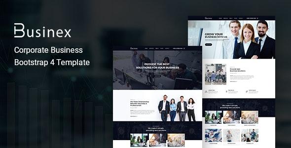 Businex – Corporate Business HTML Template - Business Corporate