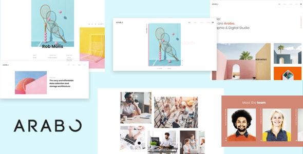 Arabo - Creative Portfolio Template - Portfolio Creative