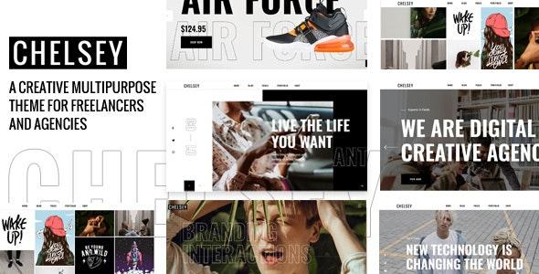 Chelsey - Portfolio Theme for Freelancers and Agencies - Portfolio Creative
