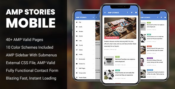 AMP Stories Mobile