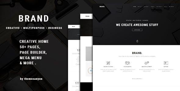 Brand. - Creative Business Template