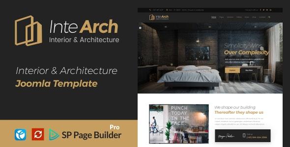 Intearch - Interior & Architecture Joomla Template - Business Corporate