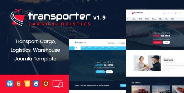 Transporter –   Transport, Logistics, Cargo Joomla Template - Business Corporate