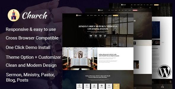 Cathedral – Multi Purpose Church WordPress Theme - Churches Nonprofit