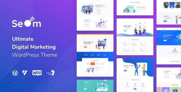 Seom - Digital Marketing & SEO WordPress Theme - Marketing Corporate