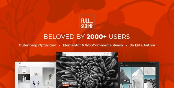 FullScene - Portfolio / Photography WordPress Theme - Portfolio Creative