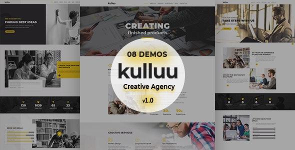 Kulluu - Creative Agency Joomla Template - Creative Joomla