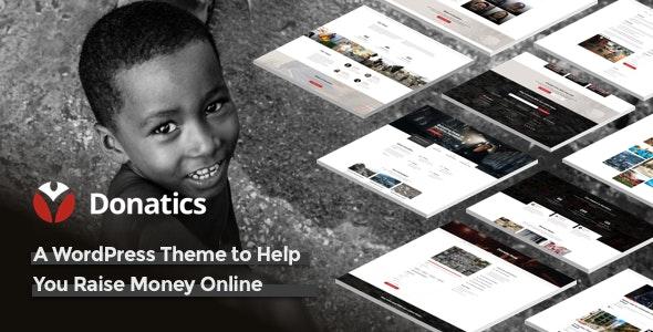 Donatics - Charity & Fundraising WordPress Theme - Charity Nonprofit