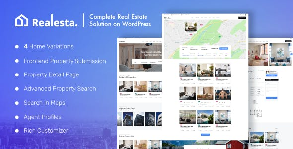 Realesta - Property Sales & Rental WordPress Theme nulled theme download