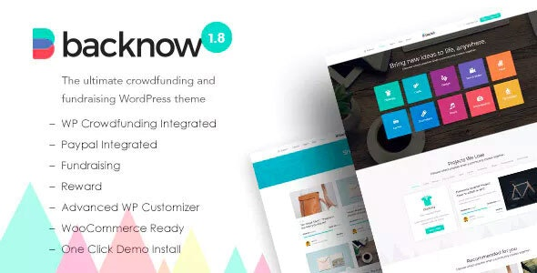 Backnow - Crowdfunding & Fundraising Theme for Charity, Nonprofit, NGO, Donation - Miscellaneous WordPress