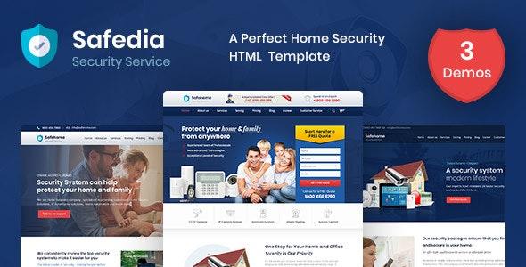 Safedia - Security HTML Template - Business Corporate