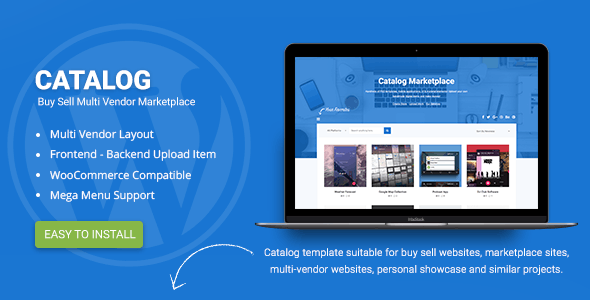 Brochure Wordpress Themes From Themeforest