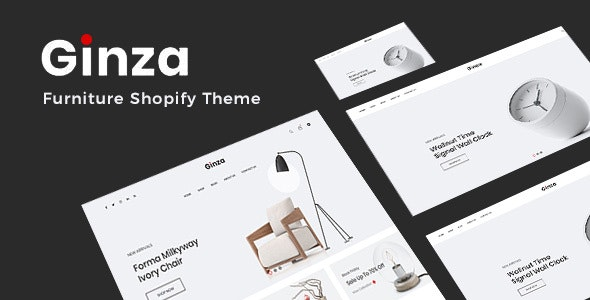 Ginza - Minimal Furniture Shopify Theme - Shopping Shopify