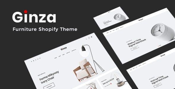 Ginza - Minimal Furniture Shopify Theme