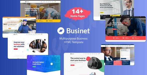 Businet - Business HTML Template - Business Corporate