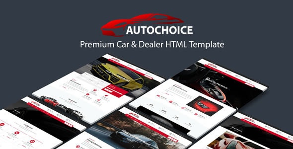 Autochoice - Responsive Premium Car & Dealer HTML Template - Business Corporate