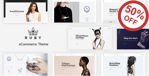 Ruby - Jewelry Store Responsive Prestashop 1.6 & 1.7 Theme - Fashion PrestaShop